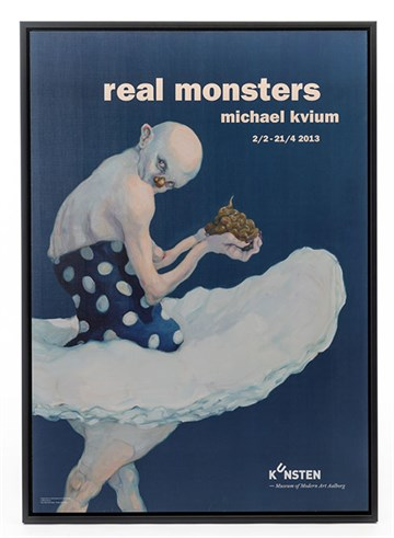 "Michael Kvium ""Real Monsters"""